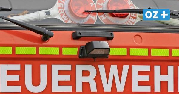 11000 Euro Schaden bei Feuer im Stralsunder Handwerkerring
