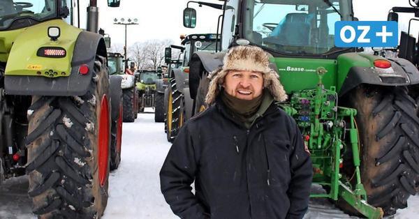 """Trecker-Demo in Stralsund: Bauern befürchten """"kalte Enteignung"""""""