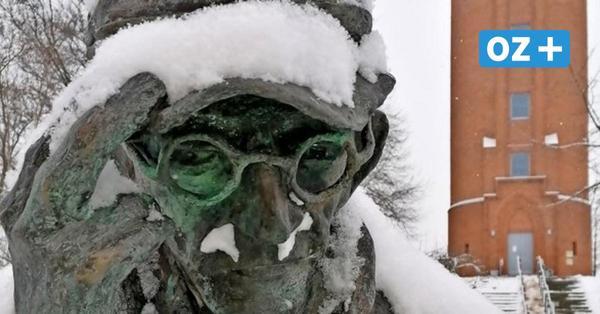 Wintereinbruch in Grimmen: Verschneite Idylle, vorsichtige Autofahrer