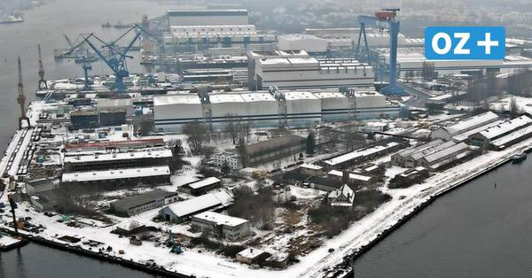 """""""Die Hallen sind leer"""": Reaktionen aus Rostock zum Stellenabbau bei den MV Werften"""