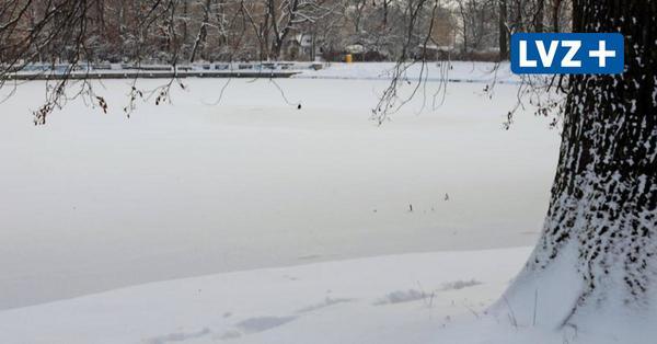 Trotz Dauerfrost: Stadt gibt keine Eisflächen in Leipzig frei