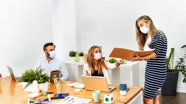 Langzeitstudie: Wie hoch ist das Corona-Infektionsrisiko im Büro?