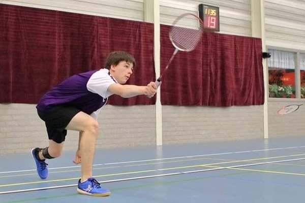 Jareth: 'Bij het revalidatiecentrum kwam ik in aanraking met badminton'