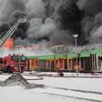 Brand Intratuin in Lisse zorgt voor NL-Alert