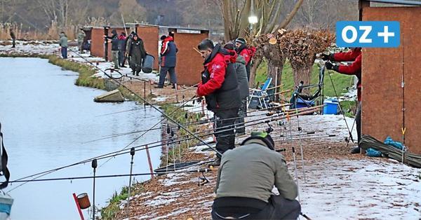 Wismar: So viel Anglerglück nach doppelten Fischbesatz im Forellenteich