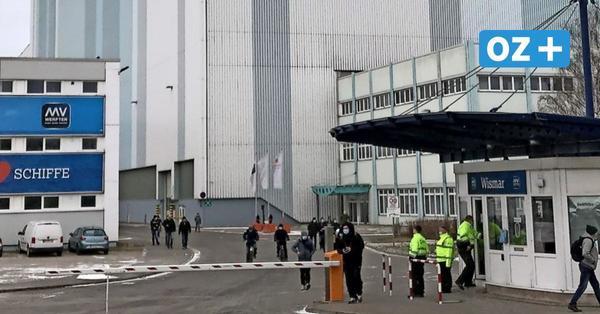 """""""Wir haben hier noch Arbeit ohne Ende"""": Was Wismarer zu Entlassungen bei den MV Werften sagen"""