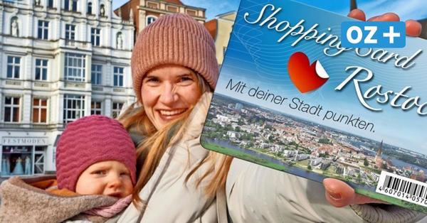 Eine Gutscheinkarte für ganz Rostock: Wie die Hansestadt das Einkaufen revolutionieren will
