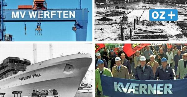Schiffbau in Wismar, Warnemünde und Stralsund: Die wechselvolle Geschichte in Bildern
