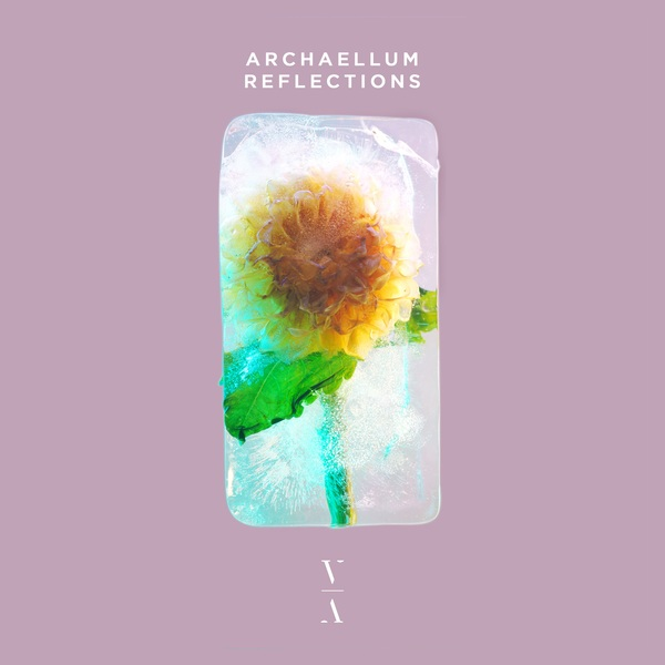 The album cover for Reflections by Archaellum
