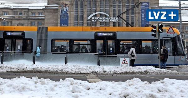 Winter in Leipzig: Sind Busse und Bahnen nicht ausreichend gewappnet?