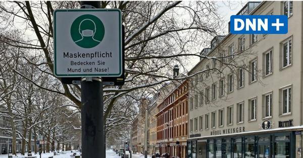 Wo müssen wir in Dresden an der frischen Luft Maske tragen?