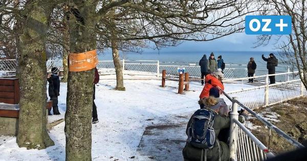 Wandern auf Jasmund: Durch die weiße Winterlandschaft bis zum Königsstuhl