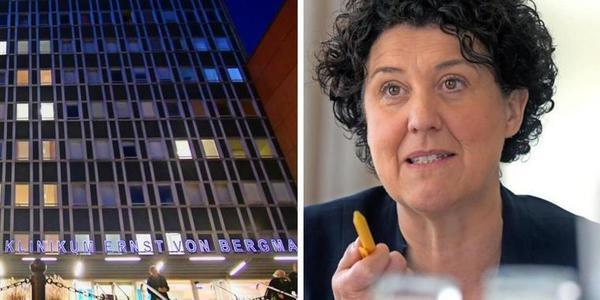 Nach Veröffentlichung des Berichts der Experten-Kommission zum Corona-Ausbruch im Bergmann-Klinikum hat sich die Aufsichtsratsvorsitzende an die Mitarbeiter des Klinikums gewandt. Quelle: Bernd Gartenschläger