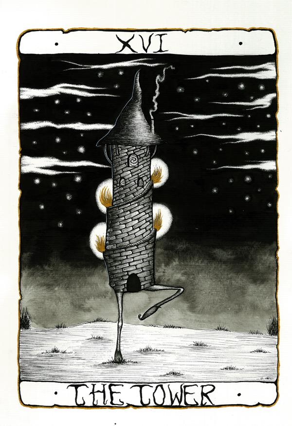 The Tower - XVI by Miky Morgado