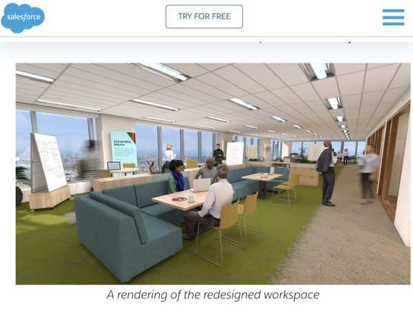 Salesforce Says We'll Go Back To The Office … 1-3 Days a Week