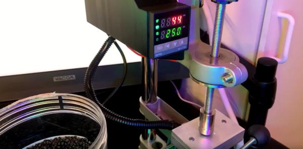 3D printing the old fashon way.
