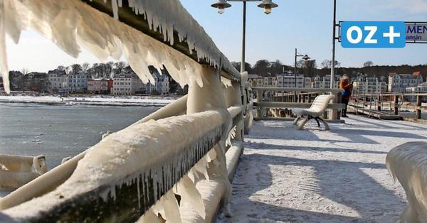 Bilderbuch-Winter auf der Insel Usedom: So spektakulär sind die Eisbildungen