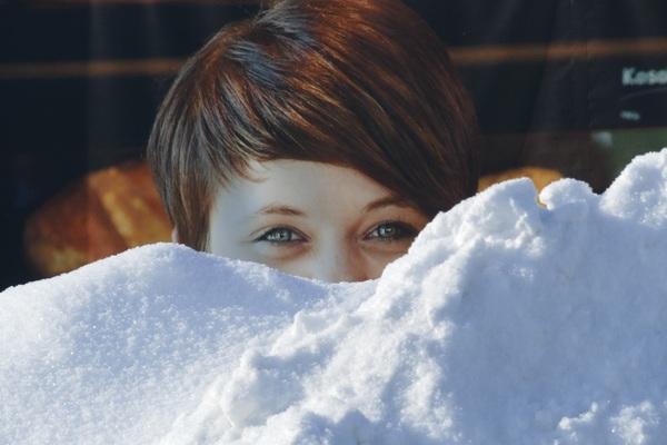 Winterliche Schnappschüsse bieten sich derzeit an. Dieser hier stammt von Vera Skamira (Stadthagen).