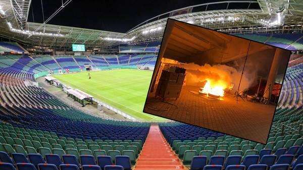 Feuer in der Red-Bull-Arena: RB Leipzig prüft Sicherheit in der Tiefgarage