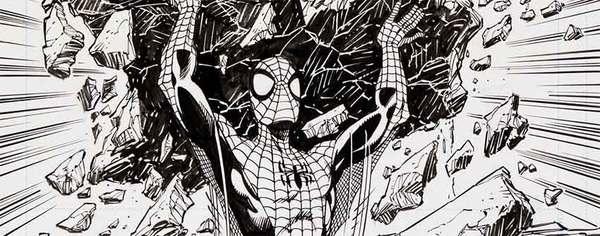John Byrne - Spider-Man Original Comic Art