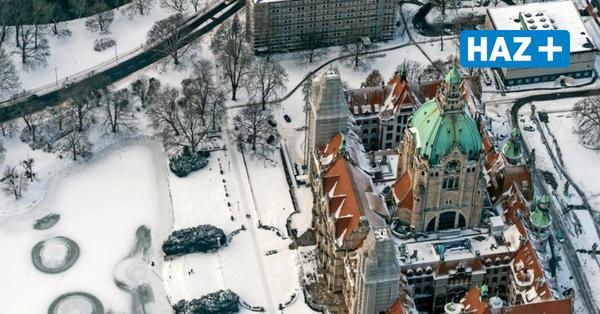 Fotos von Hannover aus der Luft: So schön ist die Region im Winter