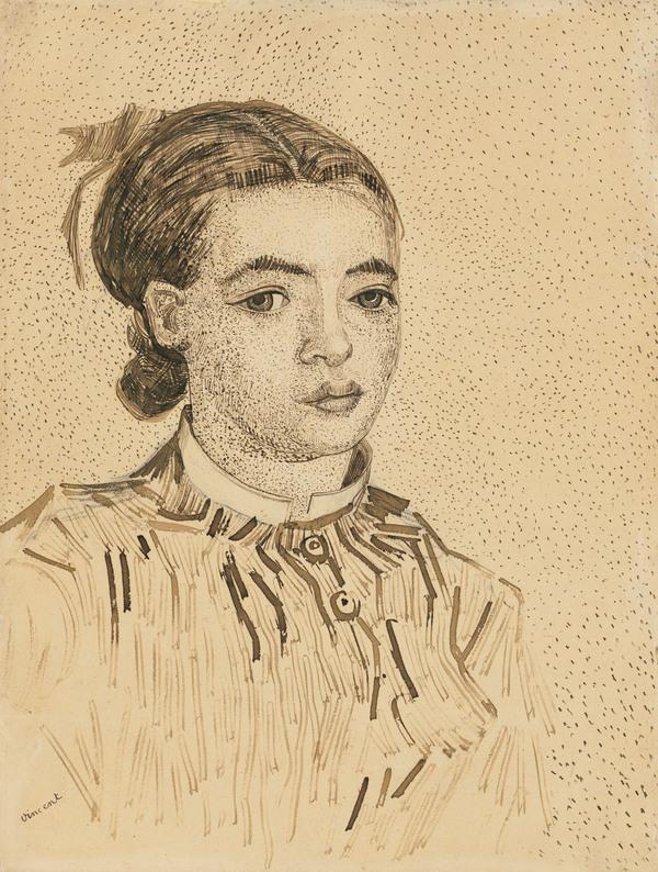 VINCENT VAN GOGH (1853-1890) - La Mousmé >>