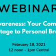 Webinar: Self-Awareness: Your Competitive Advantage to Personal Branding   Meetup