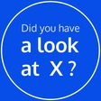 Did you have a look at X
