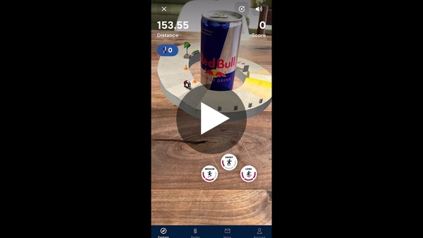 Red Bull AR game series  'Discover your Wiiings'