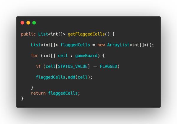 """good code"" example."
