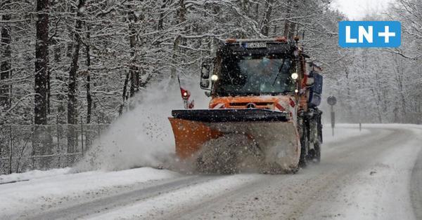 Wintereinbruch: So arbeitet sich Segeberg durch die Schneemassen