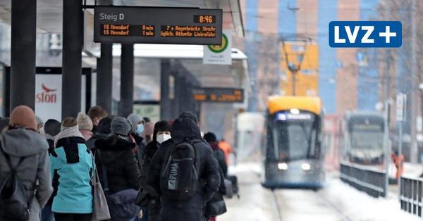 Leipzig - LVB-Linien 2 und 10 liegen weiter auf Eis