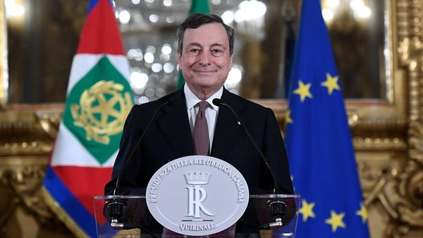 Italien: Ehemaliger EZB-Chef Draghi als neuer Ministerpräsident vereidigt
