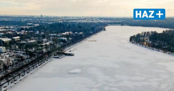 Stadt gibt Maschsee nicht frei - auch wenn das Eis dick genug wäre