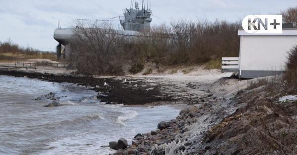 Probstei: Sturm hat Strände schwer getroffen