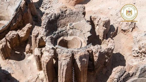 Archäologen entdecken in Ägypten 5000 Jahre alte Brauerei