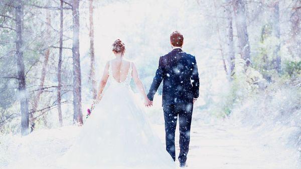 Hochzeit im Winter: Trend geht zum kleinen Fest - nicht nur wegen Corona
