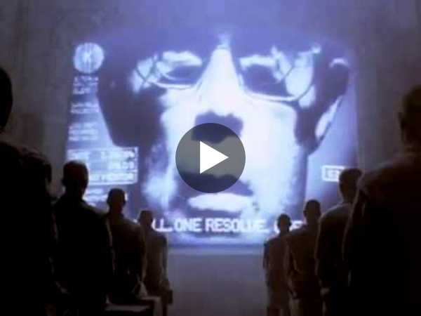Apple Macintosh original ad remastered 1984 '20th Anniversary' (2004)