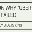 "Why ""Uber for X"" startups failed: The supply side is king"