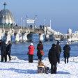 Traumhaftes Wetter lockt Massen an Ostsee-Strände
