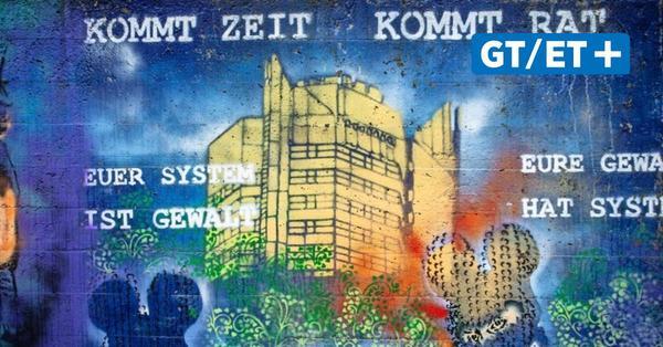 Flüchtlings-Graffiti in Göttingen: Oberbürgermeister will Anzeige nicht zurückziehen