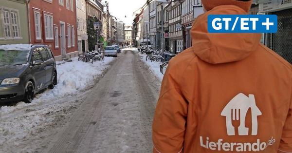 Göttingen: Lieferando bezahlt Fahrern wegen Schneechaos ausgefallene Schichten
