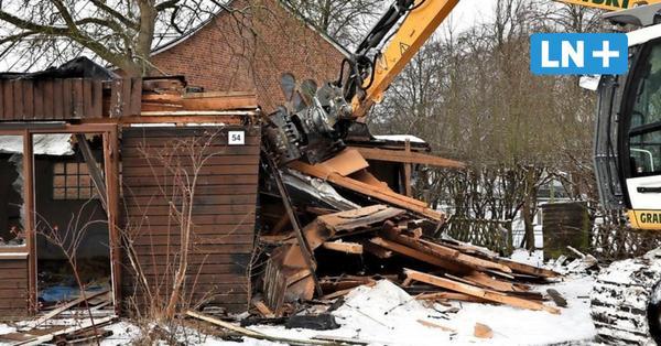 Gartenlauben abgerissen für neues Klima-Wohnquartier
