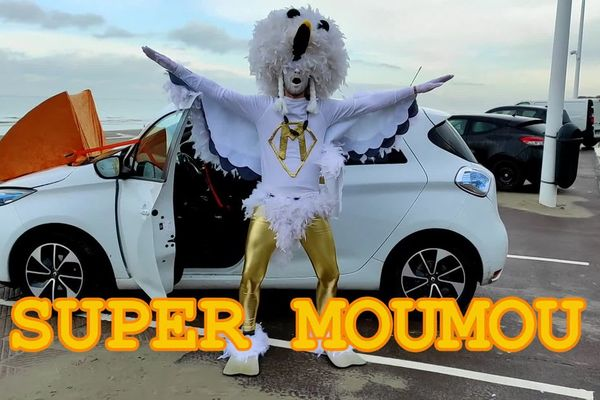 "Roro, alias ""Supermoumou"", est le nouveau champion du monde du cri de la mouette - De schreeuw van de meeuw heeft opnieuw kampioen"