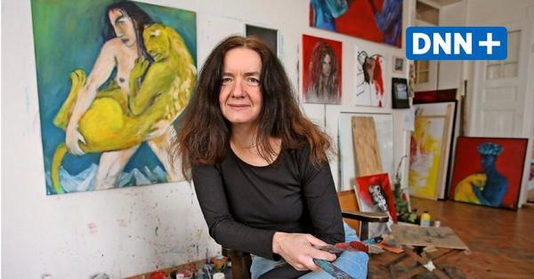 Angela Hampel in der Galerie Mitte: Das Herzblut versiegt nicht