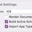 Xcode 12.5 Playground Access To App Types