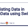 Persisting Data In CoreData Using SwiftUI