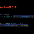 Chained Implicit Member Expressions In Swift 5.4
