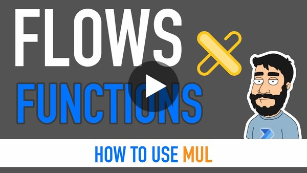 Power Automate Functions - Mul (Multiplication)