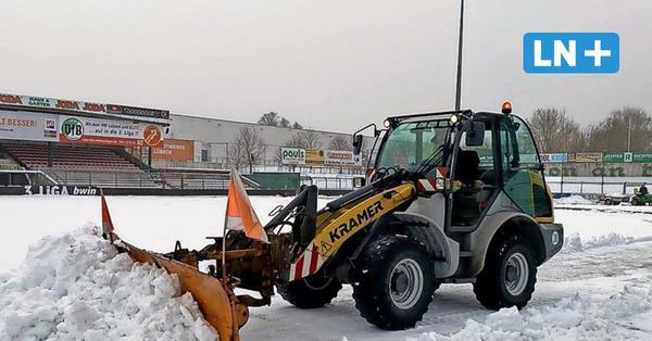 VfB Lübeck: Spiel gegen Türkgücü witterungsbedingt auch in Gefahr
